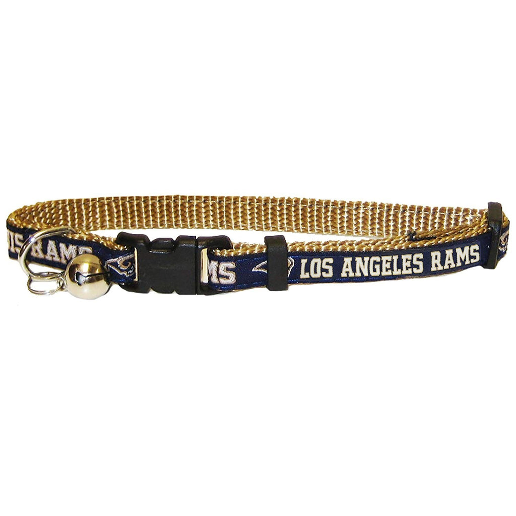 Los Angeles Rams Breakaway Cat Collar - staygoldendoodle.com