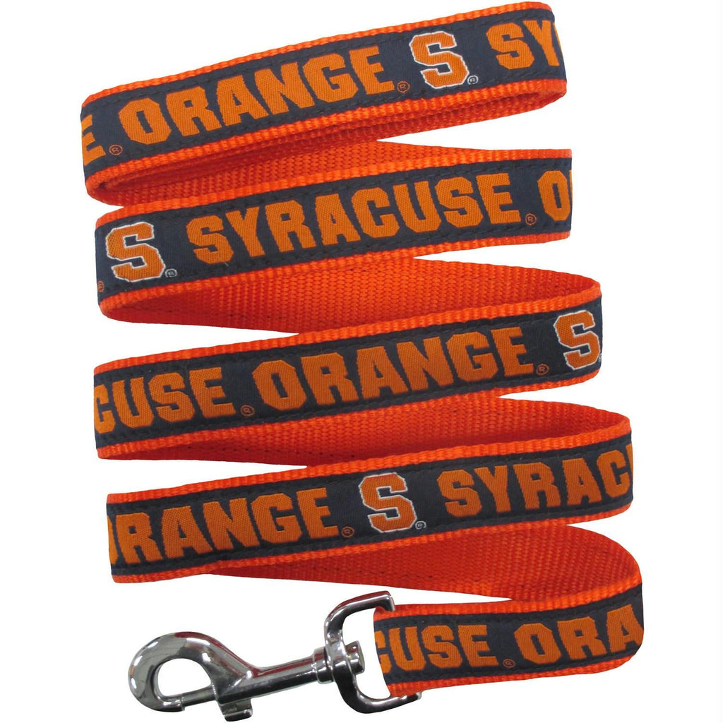 Syracuse Orange Pet Leash by Pets First - staygoldendoodle.com