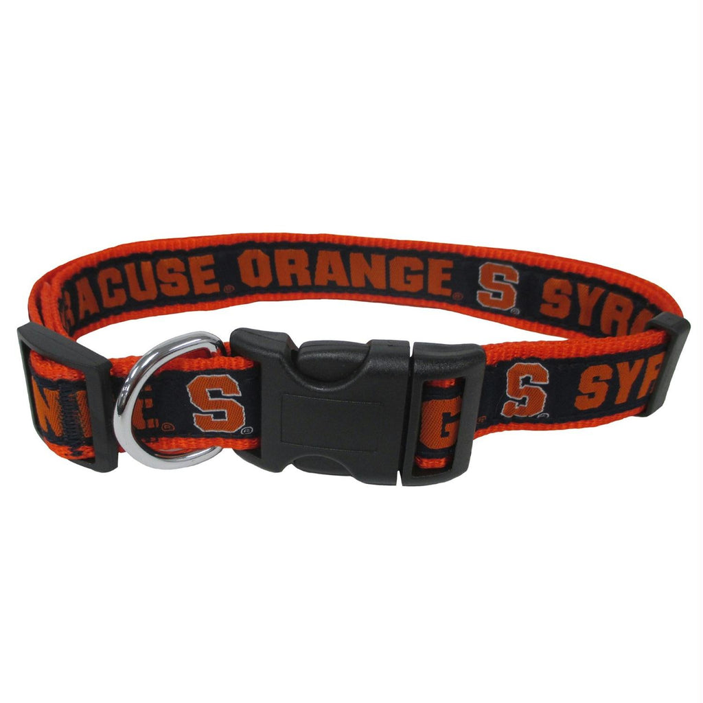 Syracuse Orange Pet Collar by Pets First - staygoldendoodle.com