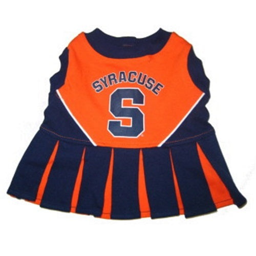 Syracuse Orange Cheerleader Pet Dress