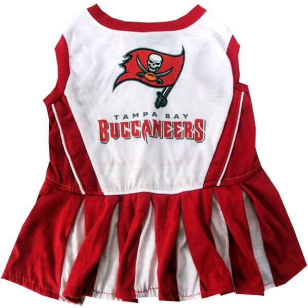 Tampa Bay Buccaneers Cheerleader Pet Dress - staygoldendoodle.com