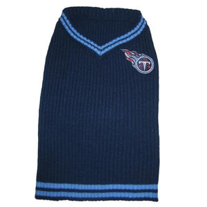 Tennessee Titans Dog Sweater - staygoldendoodle.com