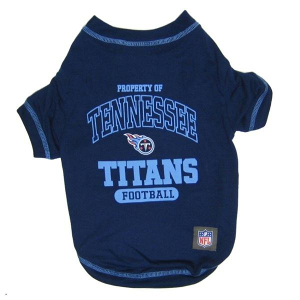 Tennessee Titans Dog T-Shirt - staygoldendoodle.com