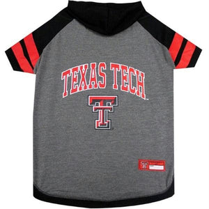 Texas Tech Red Raiders Pet Hoodie T-Shirt - staygoldendoodle.com