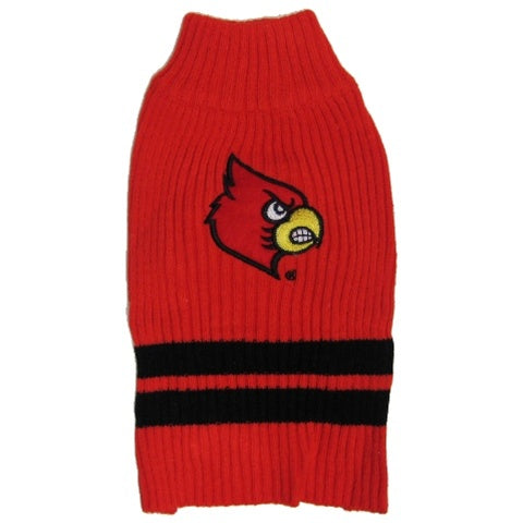 Louisville Cardinals Pet Sweater - staygoldendoodle.com