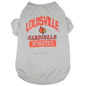 Louisville Cardinals Pet Tee Shirt - staygoldendoodle.com