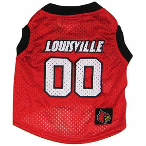 Louisville Cardinals Pet Basketball Tank Jersey - staygoldendoodle.com