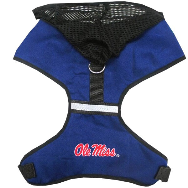 Ole Miss Rebels Pet Hoodie Harness - staygoldendoodle.com