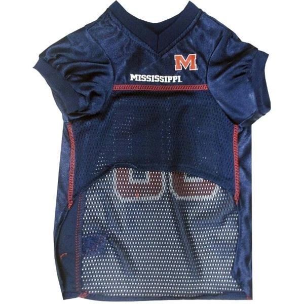 Ole Miss Rebels Pet Jersey - staygoldendoodle.com