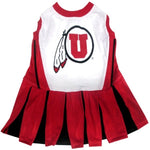 Utah Utes Cheerleader Pet Dress - staygoldendoodle.com