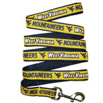 West Virginia Mountaineers Pet Leash by Pets First - staygoldendoodle.com