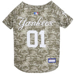 New York Yankees Pet Camo Jersey - staygoldendoodle.com