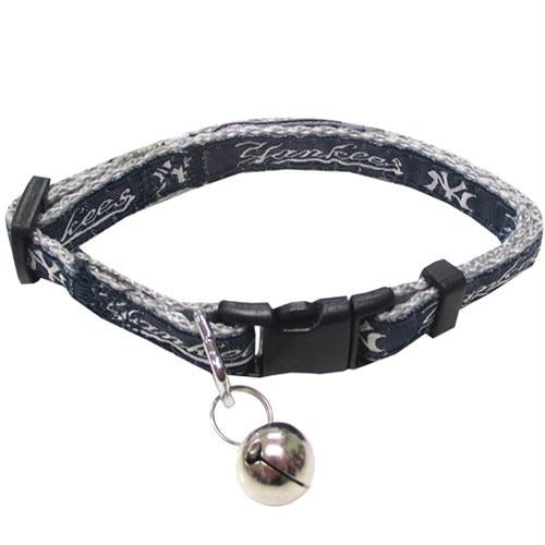 New York Yankees Breakaway Cat Collar - staygoldendoodle.com