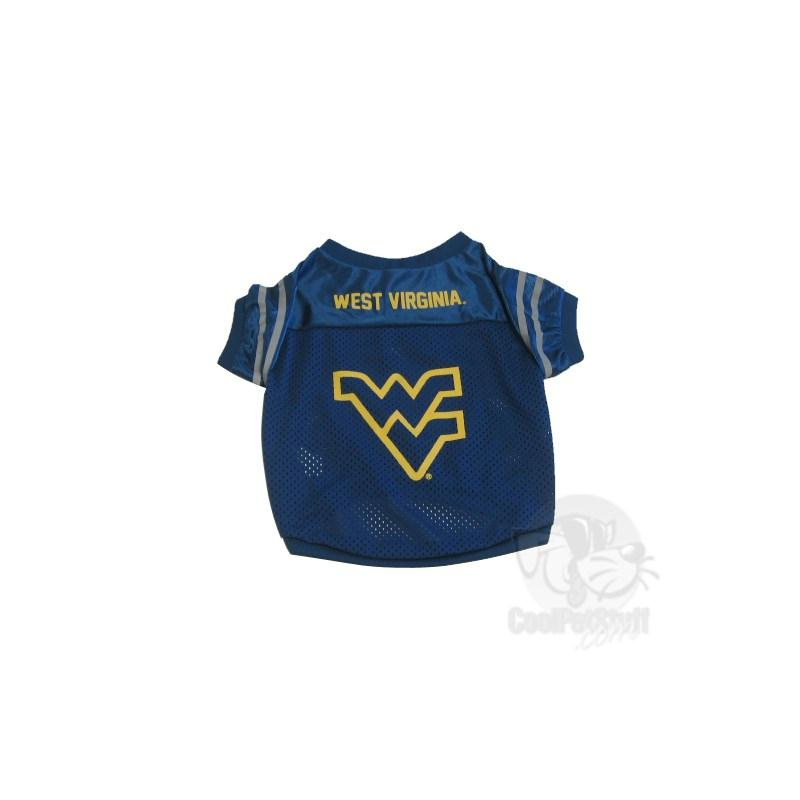 West Virginia Mountaineers Collegiate Pet Jersey - staygoldendoodle.com