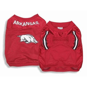 Arkansas Dog Jersey Alternate Style - staygoldendoodle.com