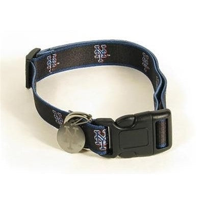 New York Mets Dog Collar Alternate Style #2 - staygoldendoodle.com
