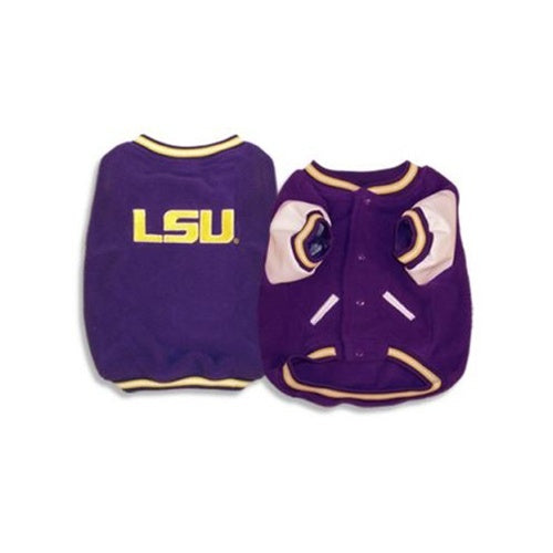 LSU Tigers Varsity Dog Jacket - staygoldendoodle.com