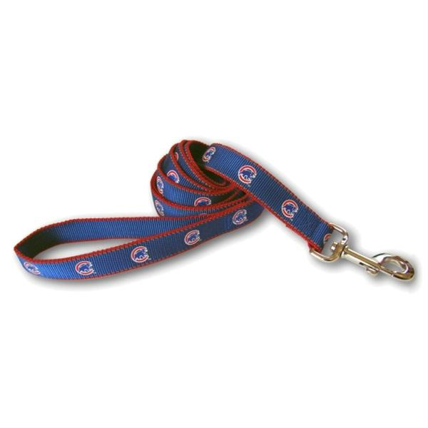 Chicago Cubs Reflective Dog Leash - staygoldendoodle.com