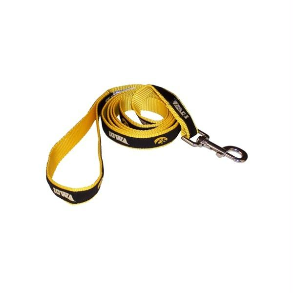 Iowa Hawkeyes Dog Leash Alternate Style - staygoldendoodle.com