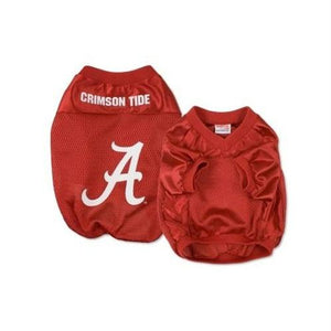 Alabama Crimson Tide Alternate Style Dog Jersey - staygoldendoodle.com