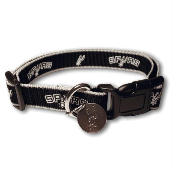 San Antonio Spurs Reflective Dog Collar - staygoldendoodle.com