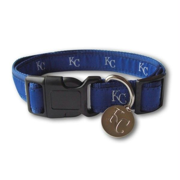 Kansas City Royals Pet Collar Alternate Design - staygoldendoodle.com