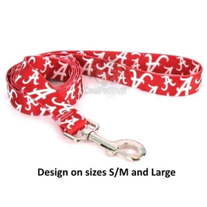 Alabama Crimson Tide Nylon Leash - staygoldendoodle.com