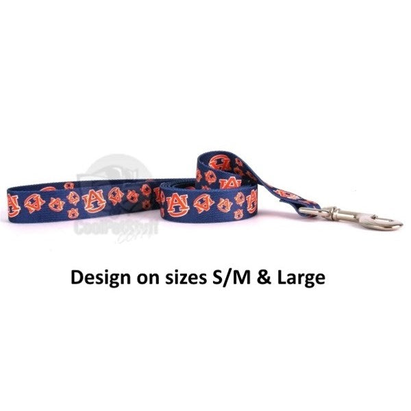 Auburn Tigers Nylon Leash - staygoldendoodle.com