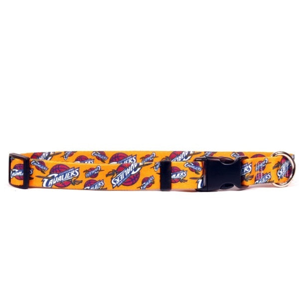 Cleveland Cavaliers Nylon Collar - staygoldendoodle.com