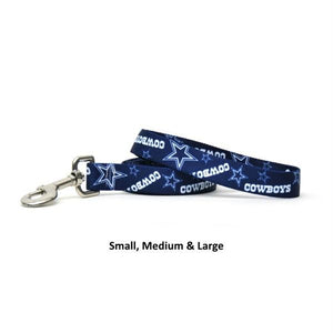 Dallas Cowboys Nylon Leash - staygoldendoodle.com