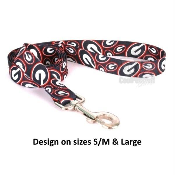 Georgia Bulldogs Nylon Leash - staygoldendoodle.com