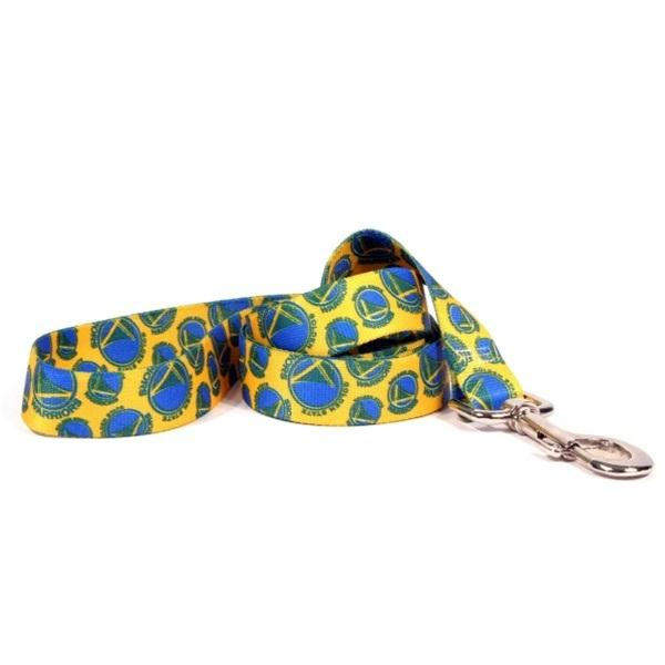 Golden State Warriors Nylon Leash - staygoldendoodle.com
