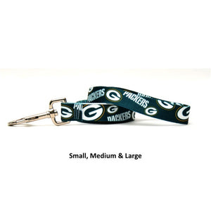 Green Bay Packers Nylon Leash - staygoldendoodle.com