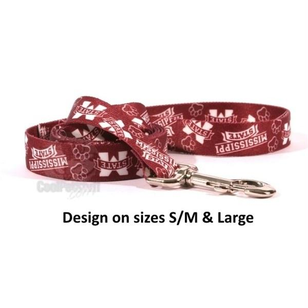 Mississippi State Bulldogs Nylon Leash - staygoldendoodle.com