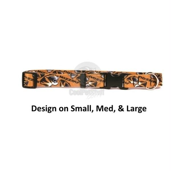 Missouri Tigers Nylon Collar - staygoldendoodle.com