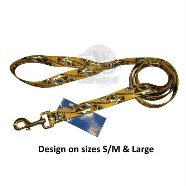 Missouri Tigers Nylon Leash - staygoldendoodle.com