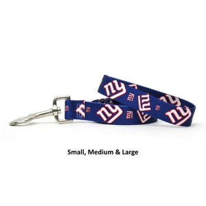 New York Giants Nylon Leash - staygoldendoodle.com