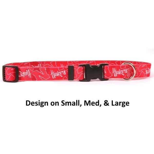 Nebraska Huskers Nylon Collar