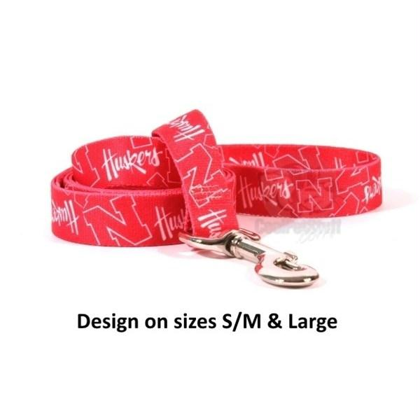 Nebraska Huskers Nylon Leash - staygoldendoodle.com