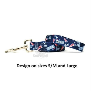 New England Patriots Nylon Leash - staygoldendoodle.com