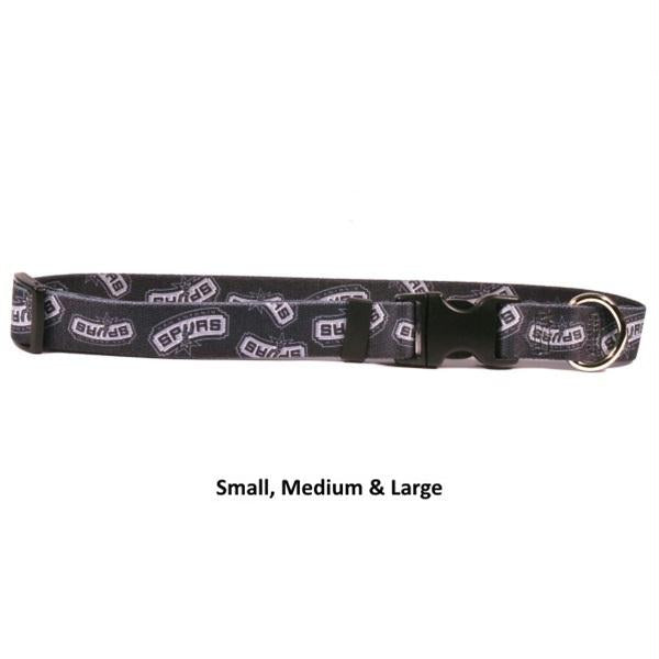 San Antonio Spurs Nylon Collar - staygoldendoodle.com