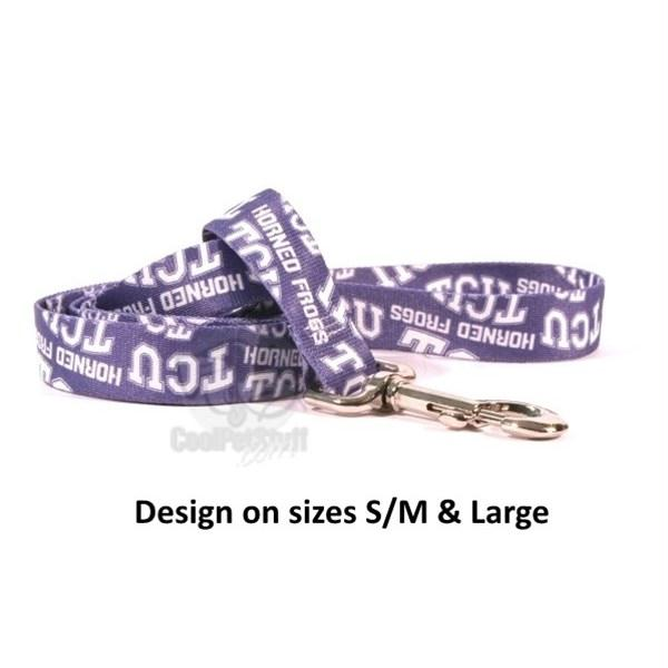 TCU Horned Frogs Nylon Leash - staygoldendoodle.com