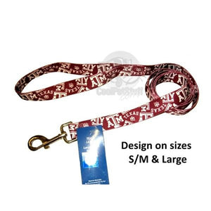 Texas A&M Aggies Nylon Leash - staygoldendoodle.com
