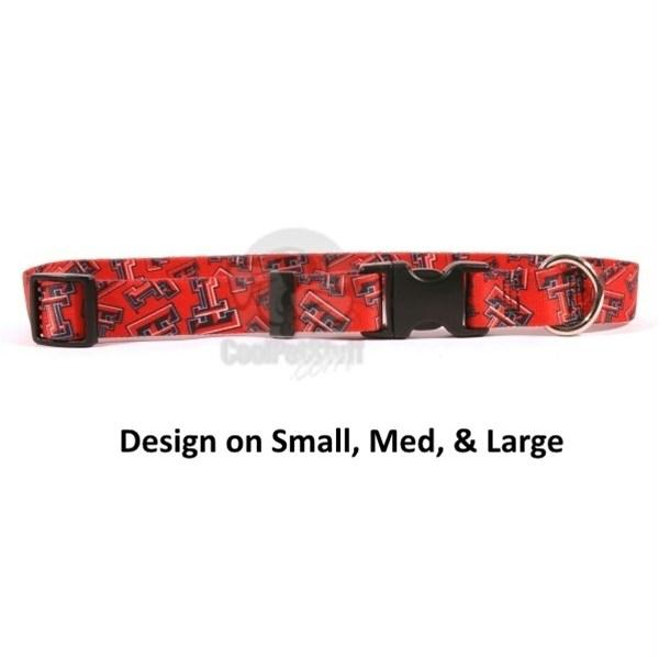 Texas Tech Red Raiders Nylon Collar - staygoldendoodle.com