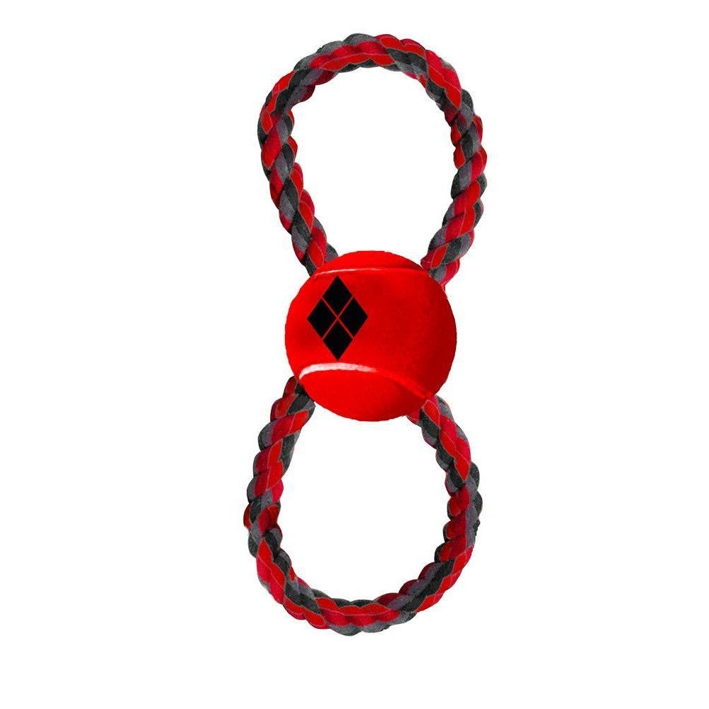 Buckle-Down Harley Quinn Pet Rope Toy - staygoldendoodle.com