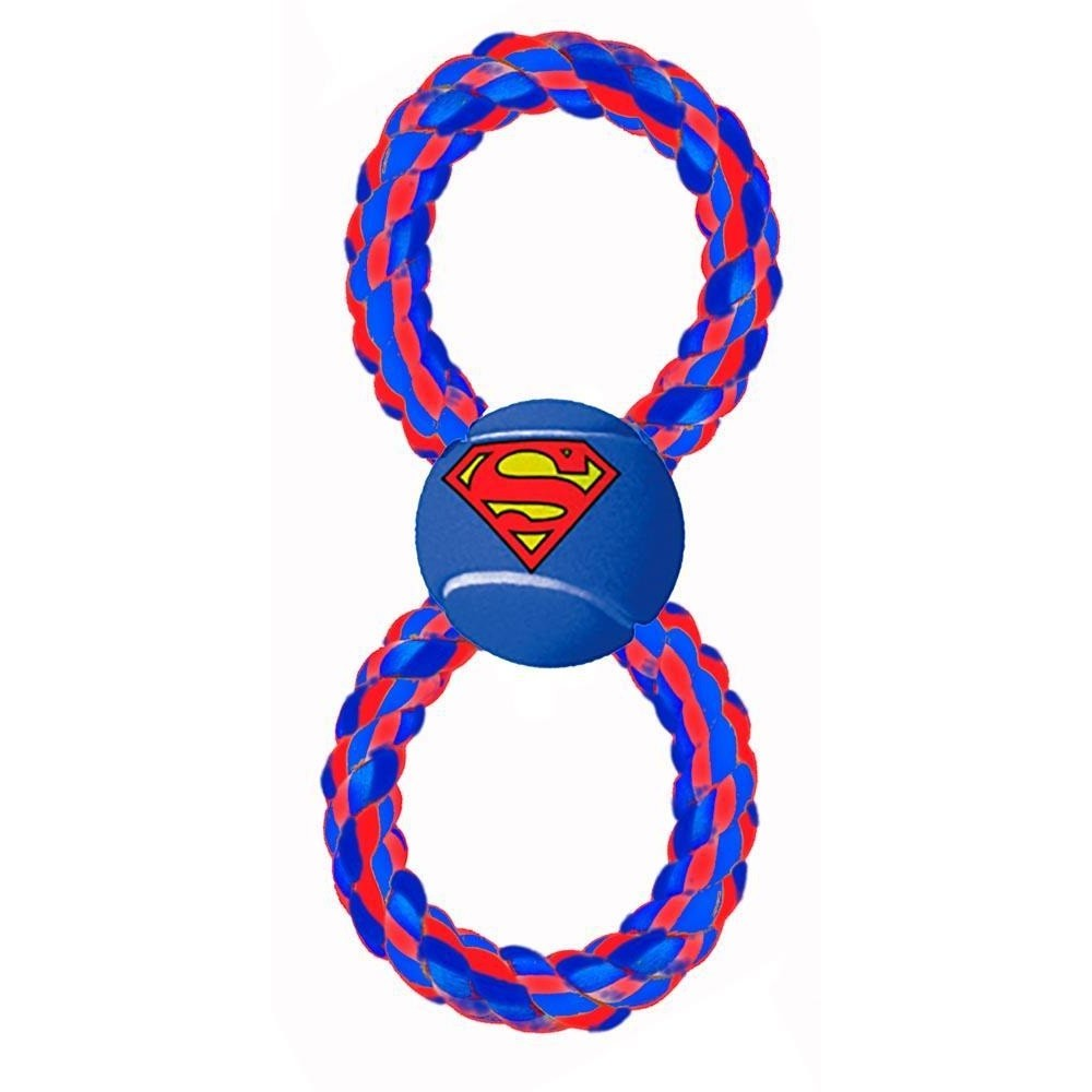 Buckle-Down Superman Pet Rope Toy - staygoldendoodle.com