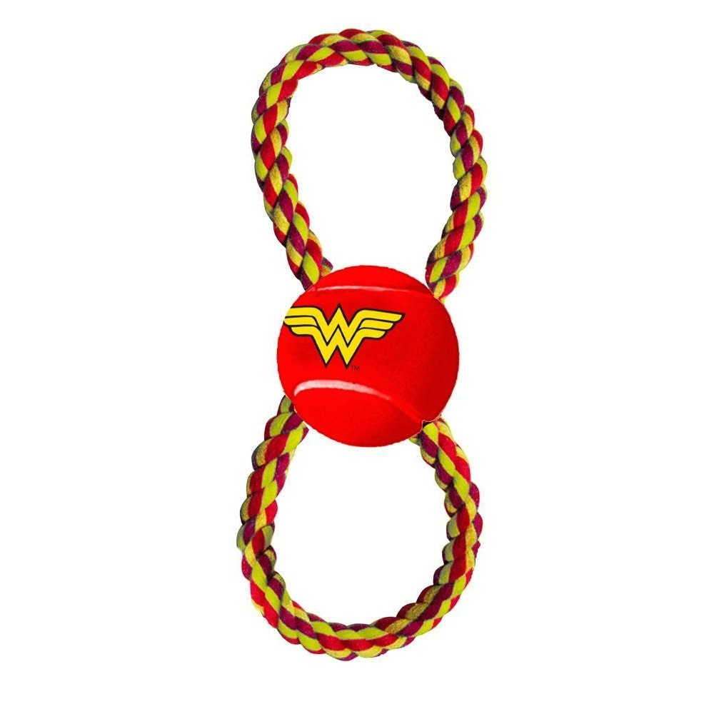 Buckle-Down Wonder Woman Pet Rope Toy - staygoldendoodle.com