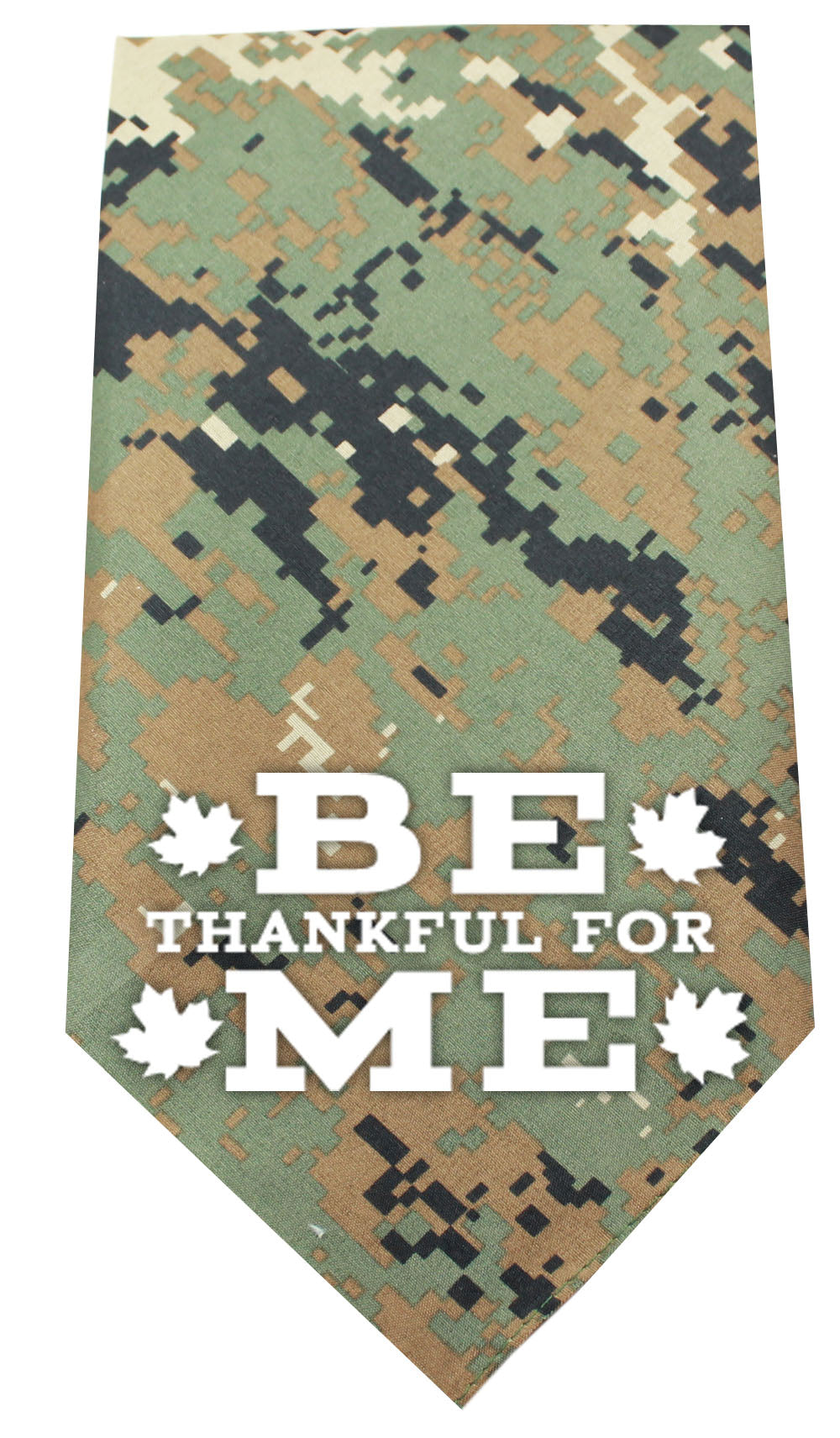 Be Thankful for Me Screen Print Bandana - staygoldendoodle.com