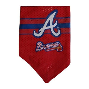Atlanta Braves Mesh Dog Bandana