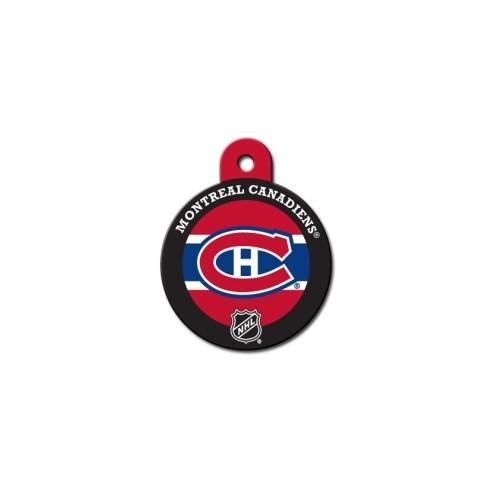 Montreal Canadiens Large Circle ID Tag